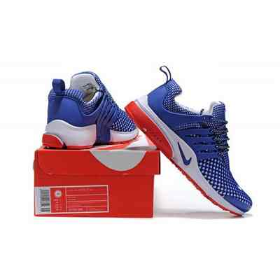 894295b3bdf homme air presto nike bleu et rouge