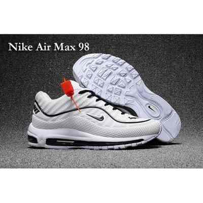 Max Nike Blanche Et air 98 chaussure Air Noir Max Femme qrqH48x7